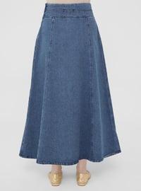 Indigo - Unlined - Skirt - Casual