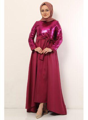 Fully Lined - Multi - Muslim Evening Dress