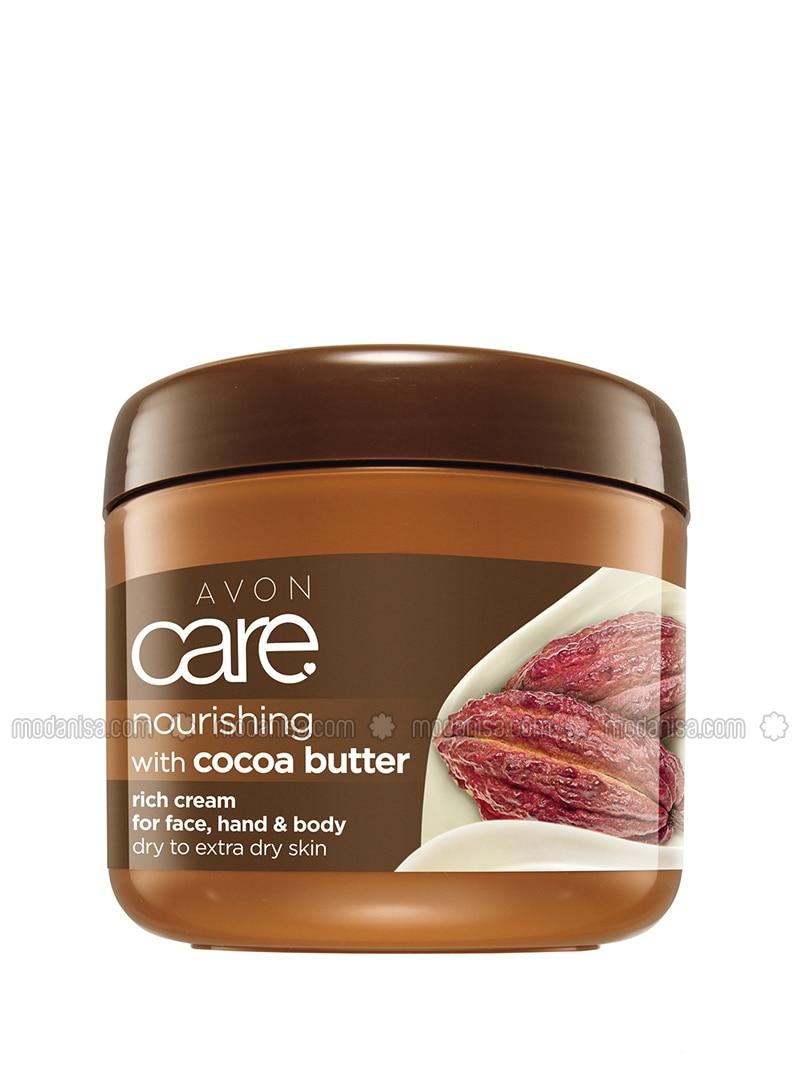 Cocoa Oil Face, Hand & Body Cream 400ml
