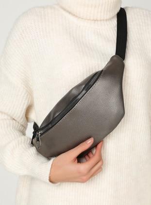 Anthracite - Gray - Bum Bag