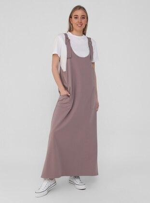 Lilac - Unlined - Plus Size Dress