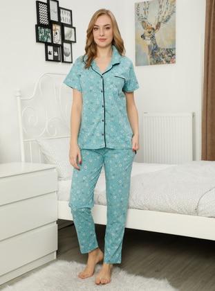 Mint - Multi - Pyjama Set