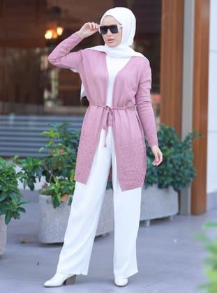 Pink - Knit Cardigans