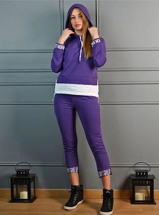 Purple - Tracksuit Set
