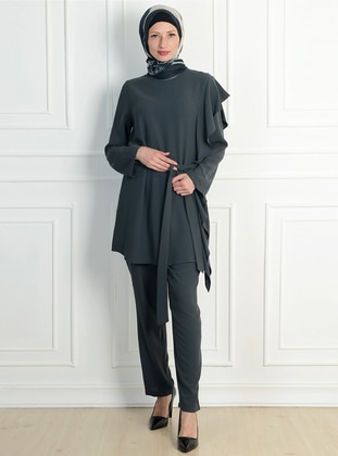 Anthracite - Unlined - Suit