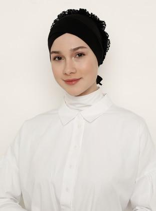 Black - Non-slip undercap - Bonnet