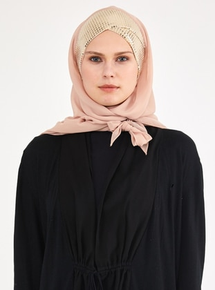 Gold - Nude - Litho - Instant Scarf