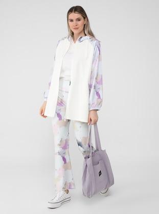 Multi - Multi - Plus Size Pants - Alia