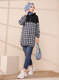 Blue - Checkered - Tunic