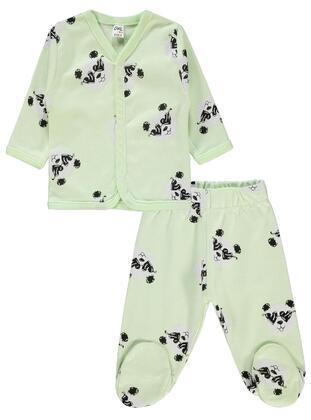 Green - Baby Pyjamas - Civil