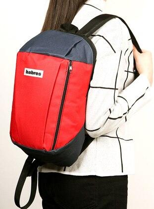Red - Backpack - Backpacks