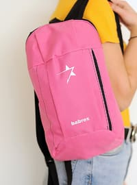 Pink - Backpack - Backpacks