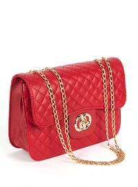 Red - Satchel - Shoulder Bags