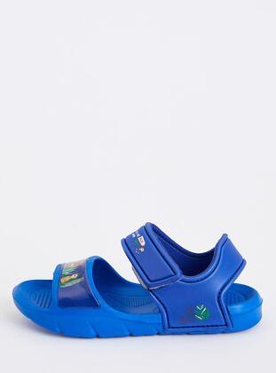 Blue - Boys` Sandals - DeFacto