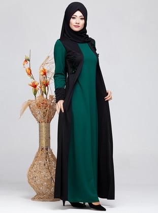 Emerald - Crew neck - Modest Dress