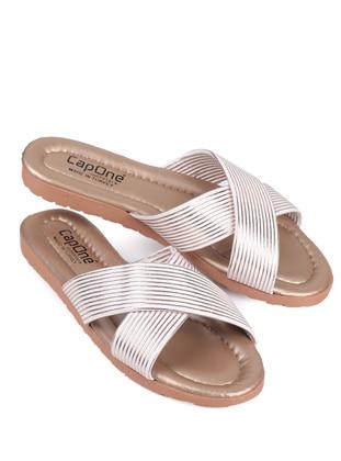 Multi - Sandal - White - Rose - Home Shoes