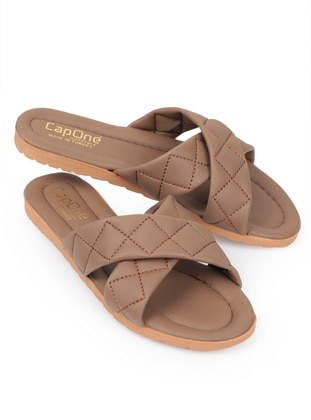 Multi - Sandal - Mink - Home Shoes