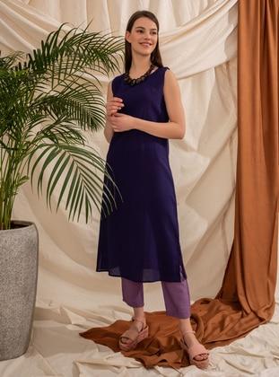 Purple - Corset