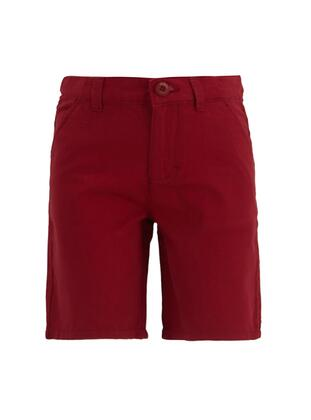 Red - Boys` Shorts - DeFacto