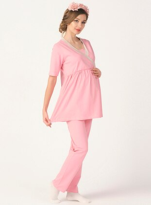 Pink - Maternity Pyjamas - PrettyChic