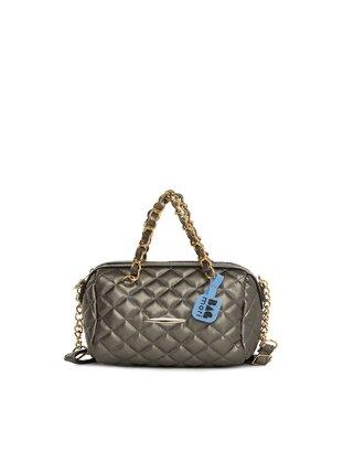 Silver tone - Cross Bag