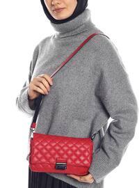 Red - Crossbody - Satchel - Shoulder Bags
