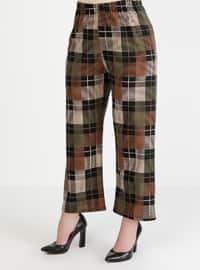 Khaki - Multi - Pants