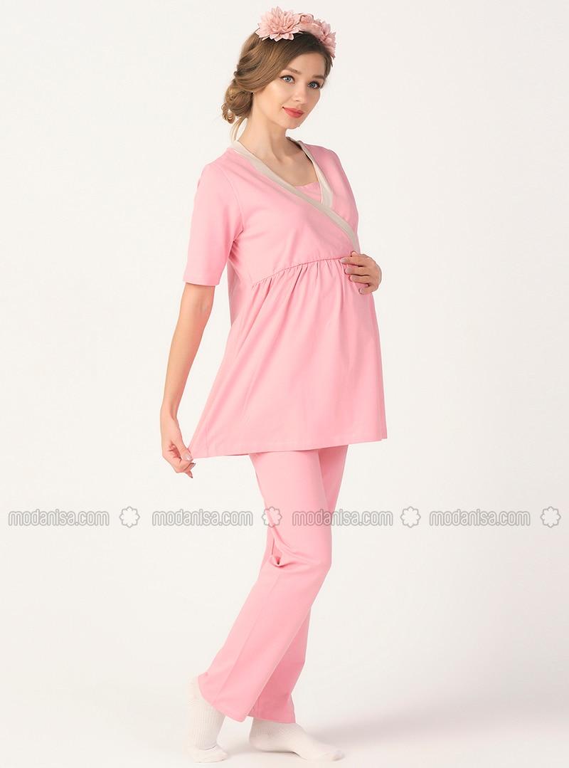 Pink - Maternity Pyjamas