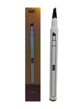 Four Forked Eyebrow Pencil - Light Brown
