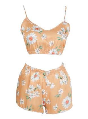 Orange - Short Set