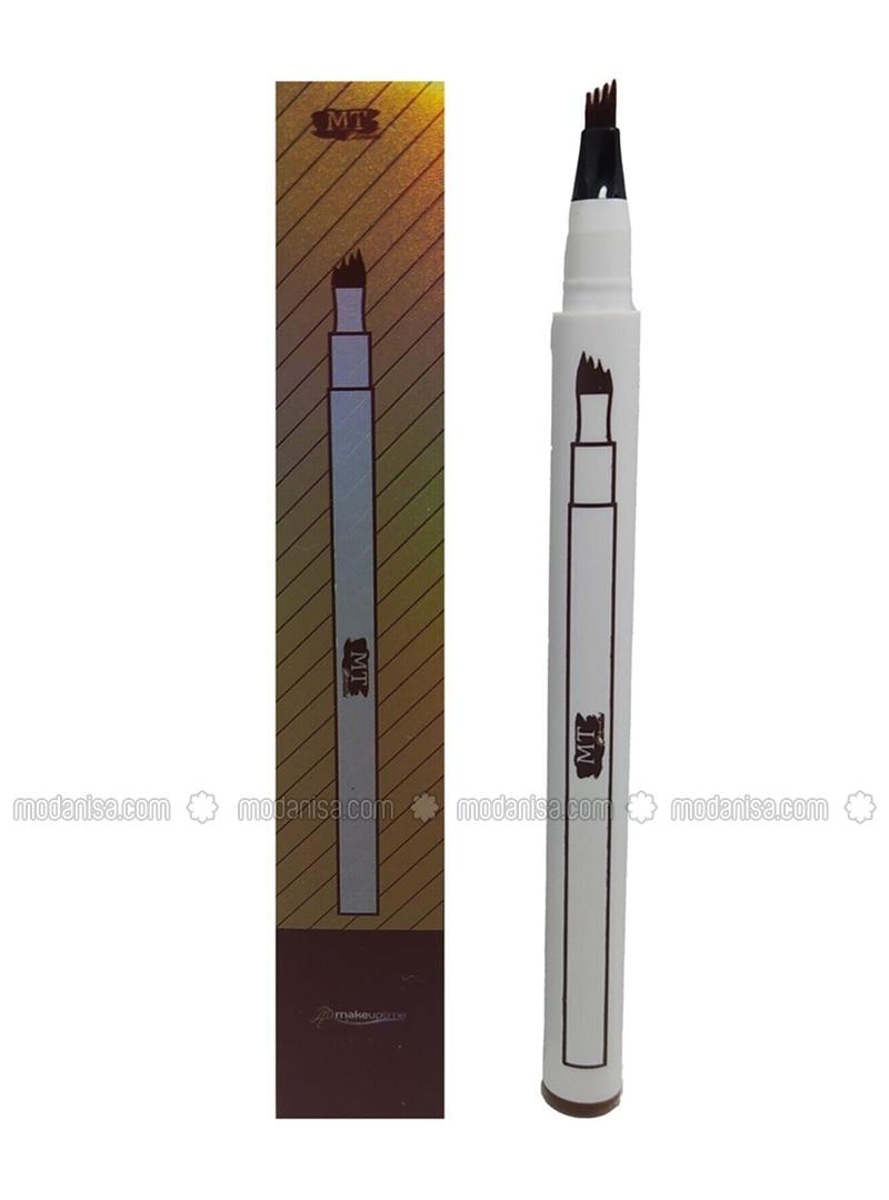 Four Forked Eyebrow Pen Dark Brown