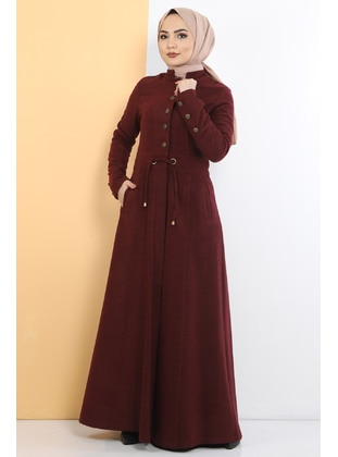 Unlined - Maroon - Coat