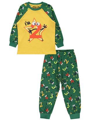 Green - Boys` Pyjamas