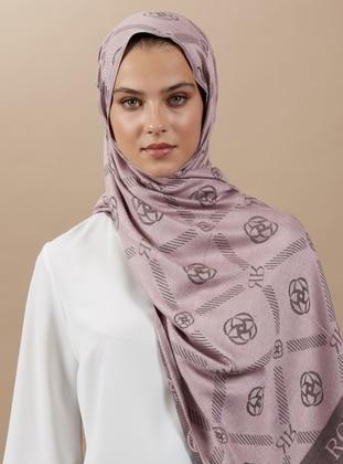 Powder - Printed - Jacquard - Shawl