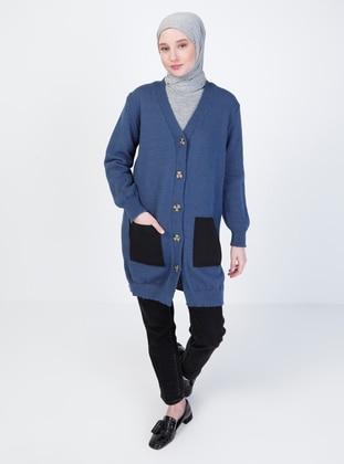 Indigo - Unlined - Knit Cardigans