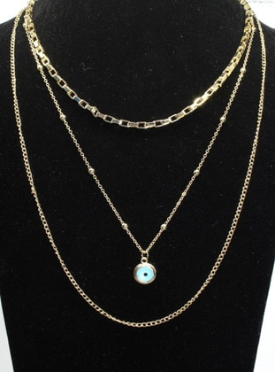 Gold - Necklace - AYDIN BİJUTERİ