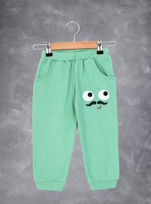 Green - Boys` Sweatpants