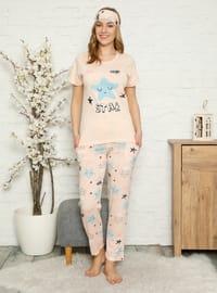 Powder - Crew neck - Multi - Pyjama Set