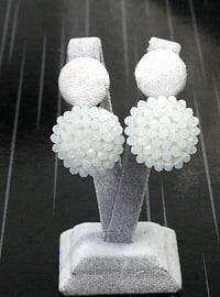 White - Earring