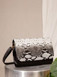 Black - Satchel - Clutch - Shoulder Bags