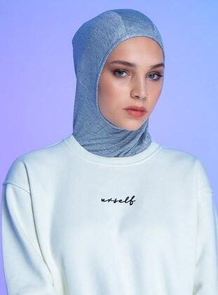 Gray - Plain - Simple - Sports Bonnet
