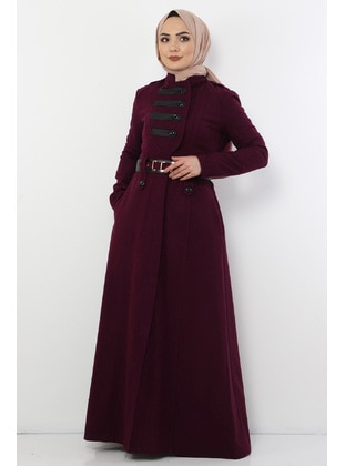 Unlined - Plum - Coat