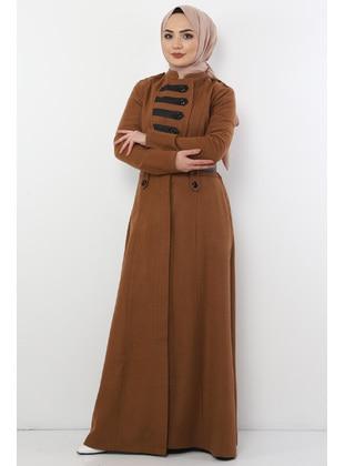 Unlined - Tan - Coat