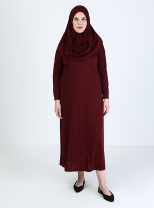 Maroon - Unlined - Prayer Clothes