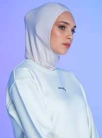 Beige - Plain - Simple - Sports Bonnet