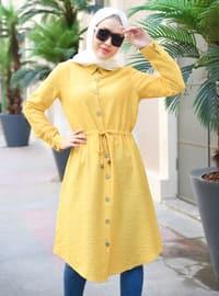 Mustard - Point Collar - Tunic