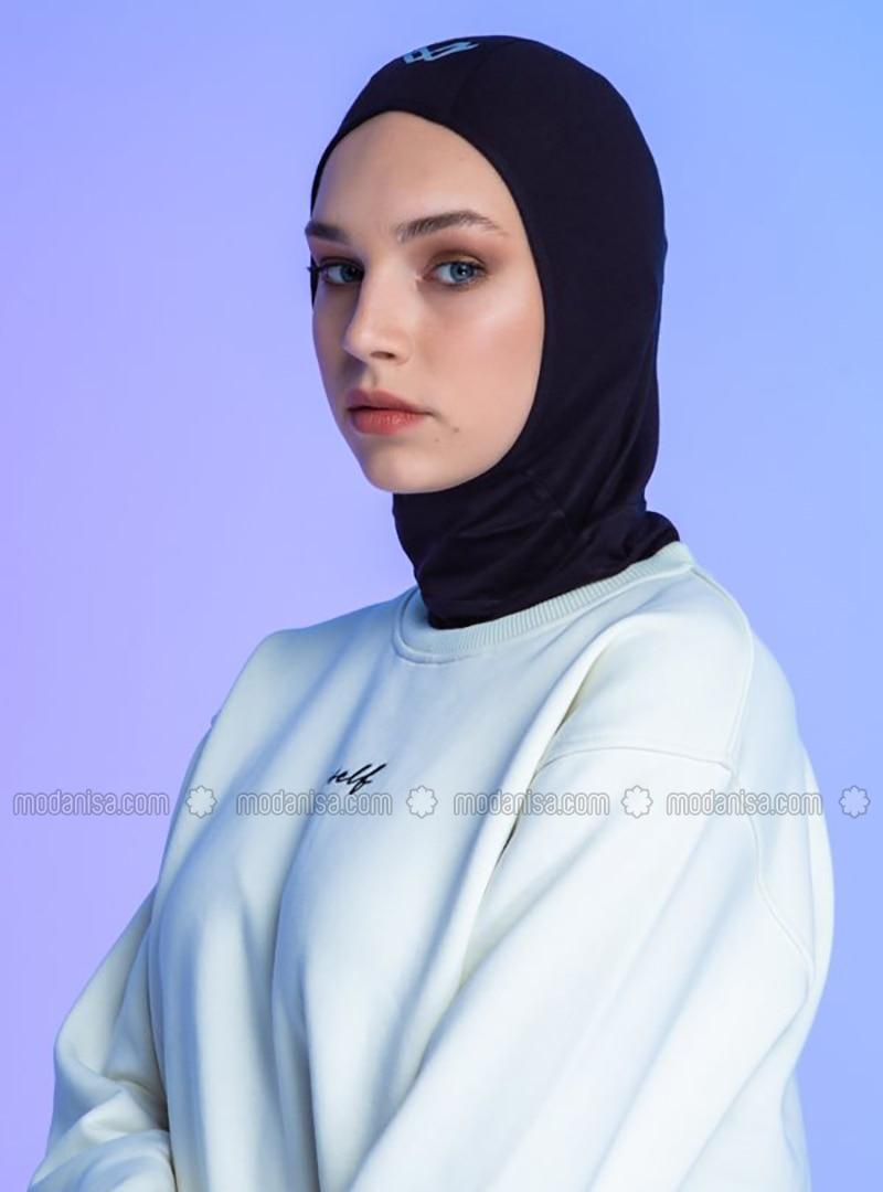 Black - Plain - Simple - Sports Bonnet