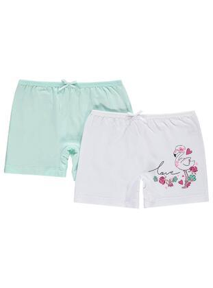 White - Girls` Underwear - Civil