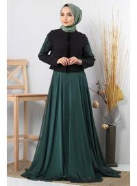 Unlined - Emerald - Suit
