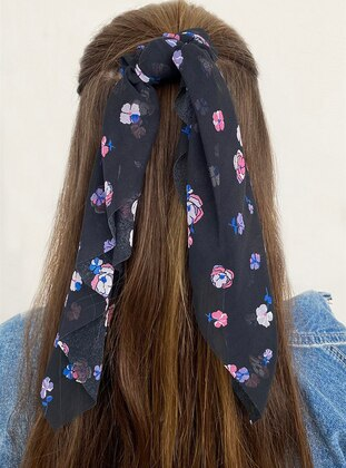 Navy Blue - Hair Bands